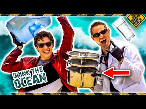 Making OCEAN Water DRINKABLE with MatPat!