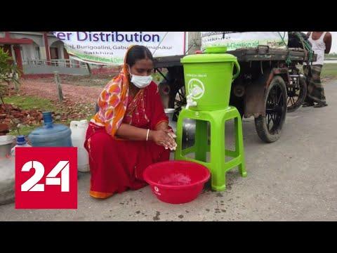 В Индии за трое суток коронавирусом заразились 100 тысяч человек