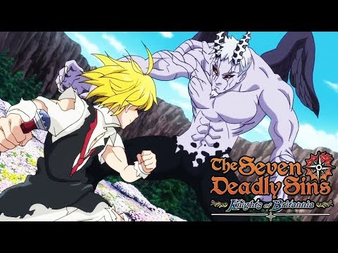 SEVEN DEADLY SINS KNIGHTS OF BRITANNIA Final Boss and All Endings