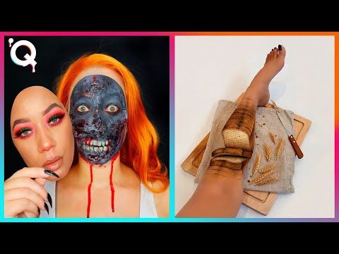 Halloween Makeup Artist Who Are At Another Level ▶ 6