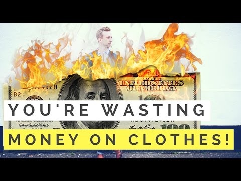 5 Ways You Could Be WASTING Money On Clothing