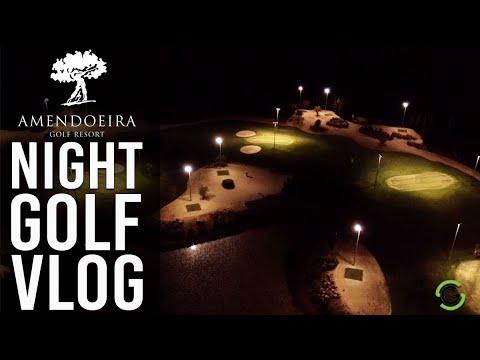NIGHT GOLF AT AMENDOEIRA RESORT, PORTUGAL