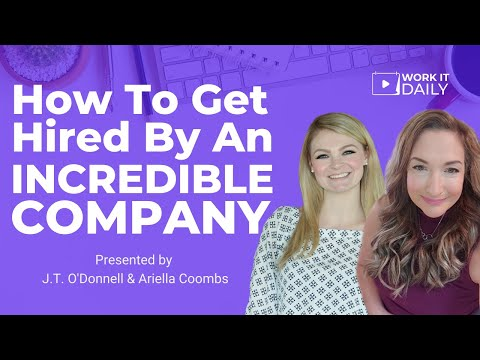 Secret To Getting Hired By INCREDIBLE COMPANIES in 2021 photo