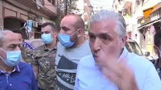 جانب من آثار الدمار الناتج عن انفجار مرفأ بيروت