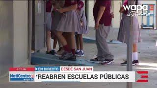 Son 177 escuelas que reiniciarán clases esta semana