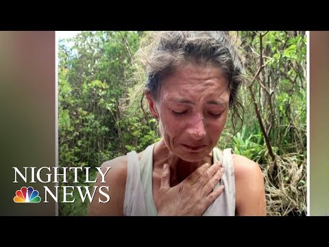 New Details From Rescue Of Hiker Missing For 17 Days In Hawaii Forest | NBC Nightly News