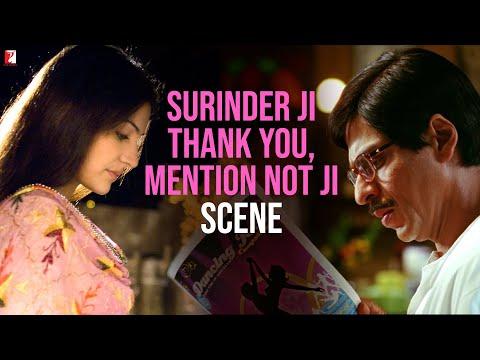 Thank You   Scene   Rab Ne Bana Di Jodi   Shah Rukh Khan   Anushka Sharma