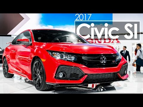 2016 Los Angeles Auto Show | 2017 Honda Civic SI | First Look & Overview