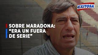 ????????Germán Leguía sobre Diego Armando Maradona: Era un fuera de serie