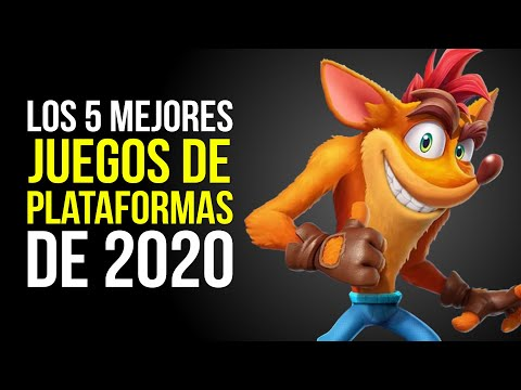 Los 5 MEJORES juegos de PLATAFORMAS de 2020