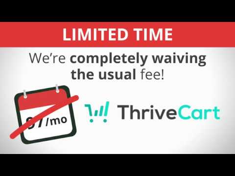 ThriveCart Special Limited Lifetime Pricing Offer - Get ThriveCart at One Low Price for Life
