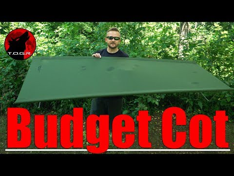 Budget Camping Cot - Alps Mountaineering Cot - Review