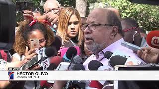 #BatallaElectoral: Declaraciones del vocero PLD, Héctor Olivo