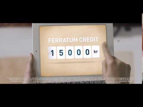 Låna upp till 15 000 kr från Ferratum.se