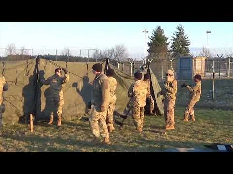 DFN: Command Post Exercise, KATTERBACH, BY, GERMANY, 02.13.2018