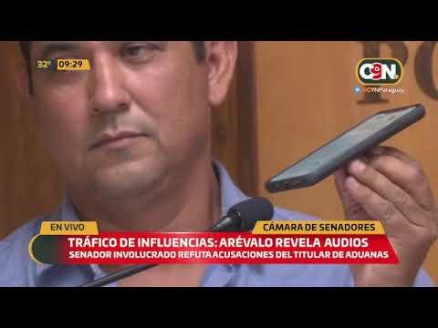 Tráfico de influencias: Senador Martín Arévalo responde a Julio Fernández