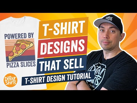 T-Shirt Designs That Sell 2 – T Shirt Design Tutorial for Non-Designers Selling on Print on Demand