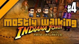Mostly Walking - Indiana Jones and the Fate of Atlantis - P4