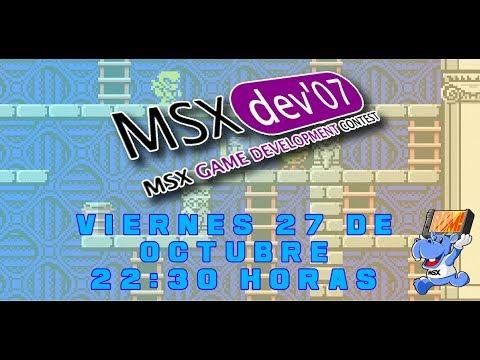 Los videojuegos de MSXdev'07 - MSX homebrew (II)