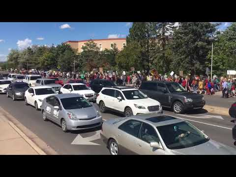 Activists rally for climate action at NM Capitol