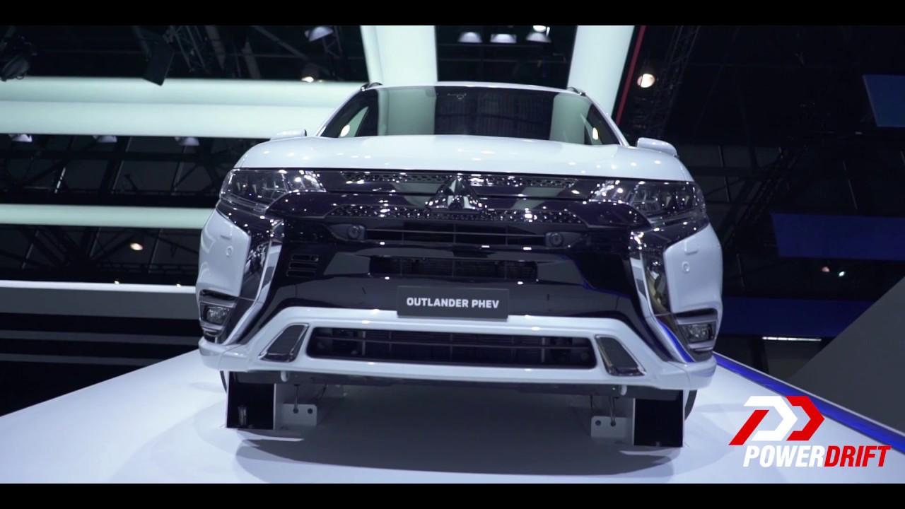 மிட்சுபிஷி அவுட்லென்டர் evolution phev - right in the feels : geneva motor show 2018 : powerdrift