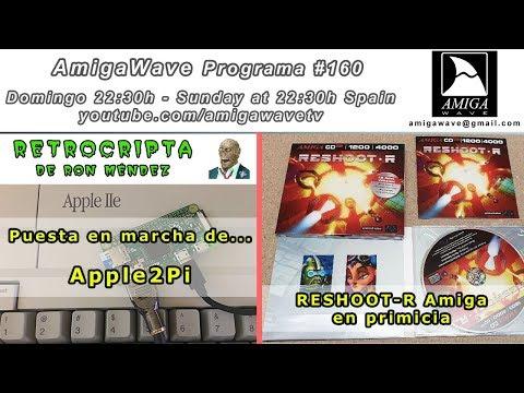 AmigaWave #160 - RetroCrypta de Apple2pi, ¿cómo se hacían los juegos? part 7 y Reshoot-R