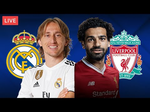 REAL MADRID vs LIVERPOOL - LIVE STREAMING - Champions League - Football Match