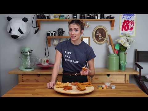 "Which Fast Food Restaurant Has the BEST CHICKEN TENDERS""! Taste Test With Julie Nolke"