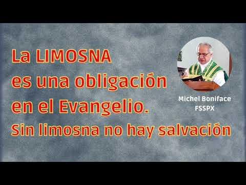 La LIMOSNA es una obligación en el Evangelio   Sin limosna no hay salvación
