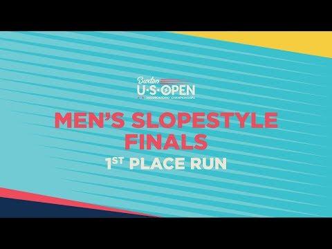 2019 Burton U·S·Open Men?s Slopestyle Finals ? 1st Place Run
