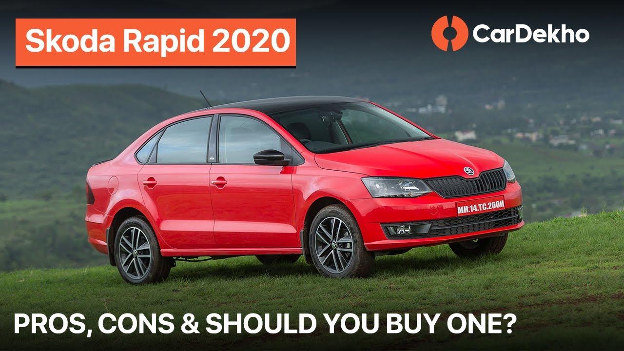 🚗 (हिंदी) Skoda Rapid 2020 TSI | Pros, Cons & Should You Buy One? | CarDekho.com