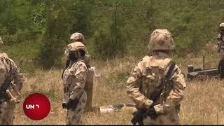 Despliegue militar y exhibicio?n de armas pesadas hizo Colombia a 30 kilo?metros de la frontera