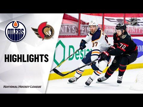 Oilers @ Senators 4/8/21 | NHL Highlights