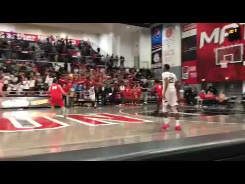 Lobos guard Mathis banks 3-point game-winner against Cal. State-Northridge