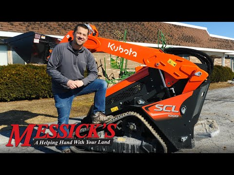 *NEW* Kubota SCL1000 stand on compact loader | Unit Walk-Around Picture