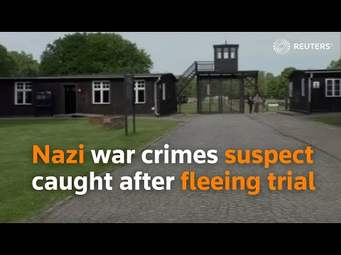 Nazi war crimes suspect caught after fleeing trial