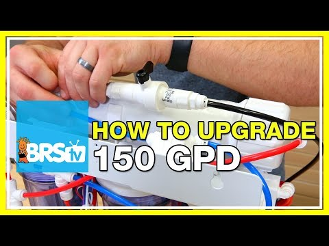 Installing the BRS 150 GPD Water Saver Upgrade Kit | BRStv How-To