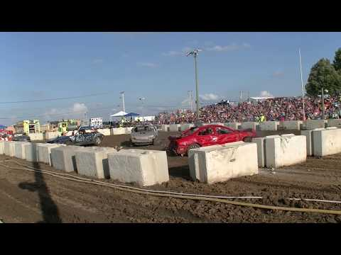 DEWITT COUNTY BONE STOCK DEMOLITION DERBY 2018