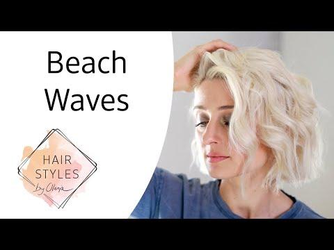 Beach Waves Tutorial mit Olesja