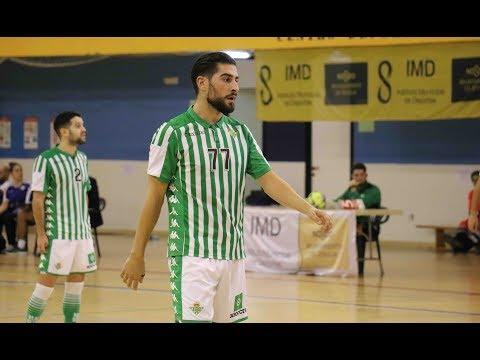 Emilio Buendía, el gol del Real Betis Futsal