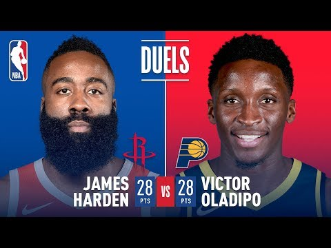 Harden and Oladipo DUEL It Out! 28 Pts Each | November 5, 2018