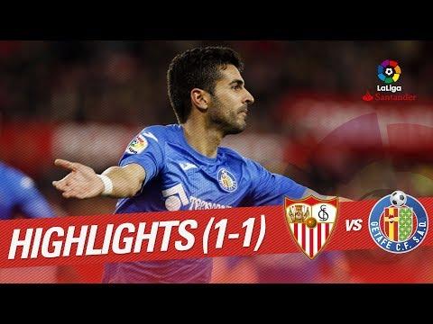 Resumen de Sevilla FC vs Getafe CF (1-1)
