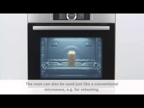 Mikro-funksjon i Bosch Serie 8 ovner