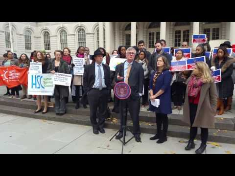 OTPS Rally 12/1/16 - State Assemblymember Brian Kavanagh