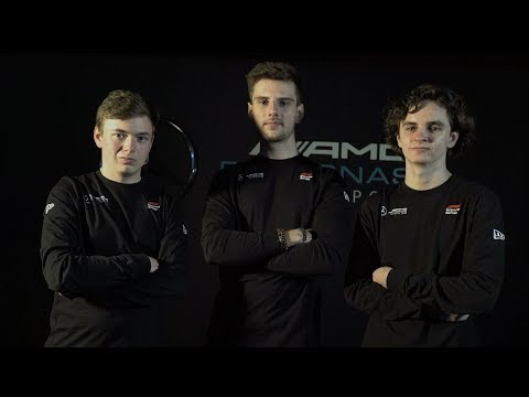 Introducing the 2019 Mercedes F1 Esports Team