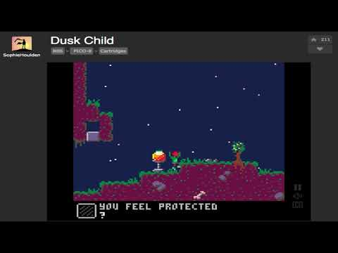 DUSK CHILD 1.4 by Sophie Houlden on the PICO-8