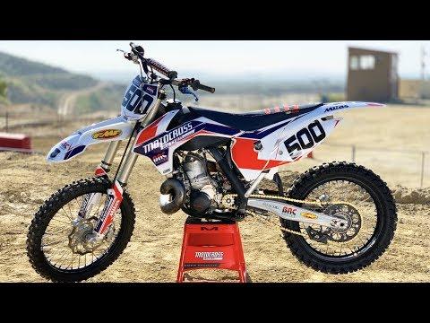 Project BRC 500cc 2 Stroke - Motocross Action Magazine
