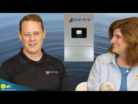 We sit down with Tom from Sol-Ark at our 8th Annual Solar Conference to discuss the features and benefits of the Sol-Ark 8k Hybrid Inverter. It is an easy to install solar + storage yourself with the Sol-Ark inverter/charger. It supports 8000 watts of cont