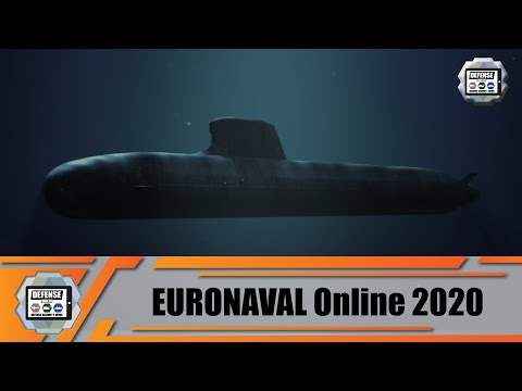 Technical review Naval Group Scorpene-class and Suffren/Barracuda-class submarines Euronaval 2020