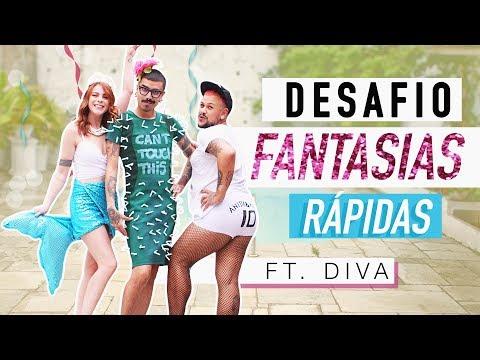 CRIANDO FANTASIAS DE SEREIA, CACTOS & ANITTA ft. Diva Depressão – Desafio DIY